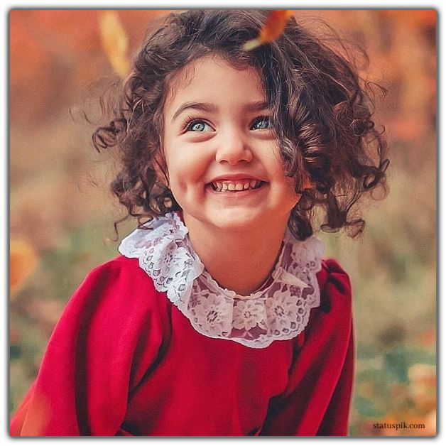 so sweet girl with cute smile